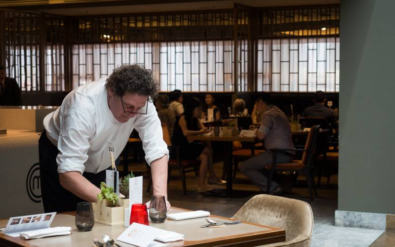 Marco Pierre White at MasterChef Dining and Bar Singapore