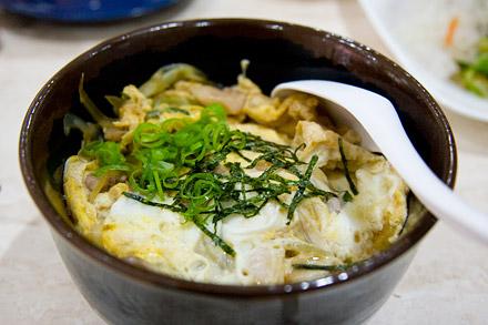 Oyakodon from Rapid Café