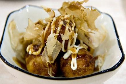 Takoyaki from Rapid Café.