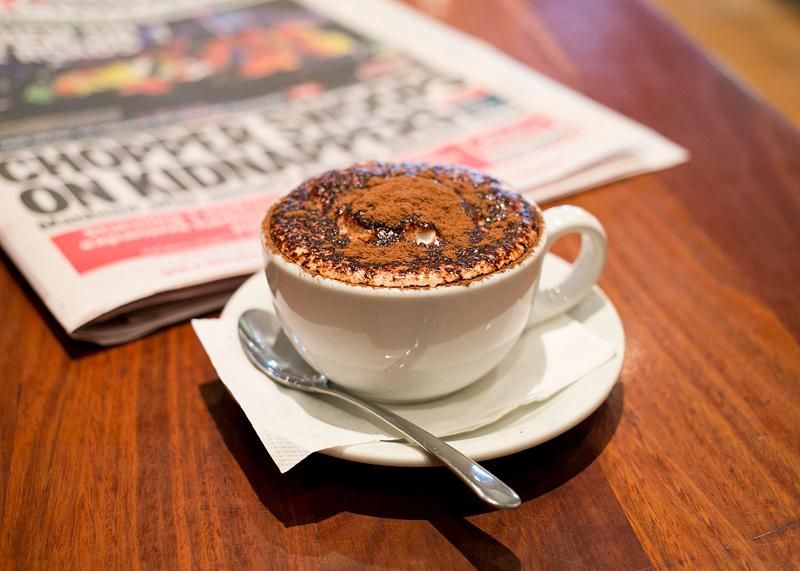 Cafe 21 cappuccino